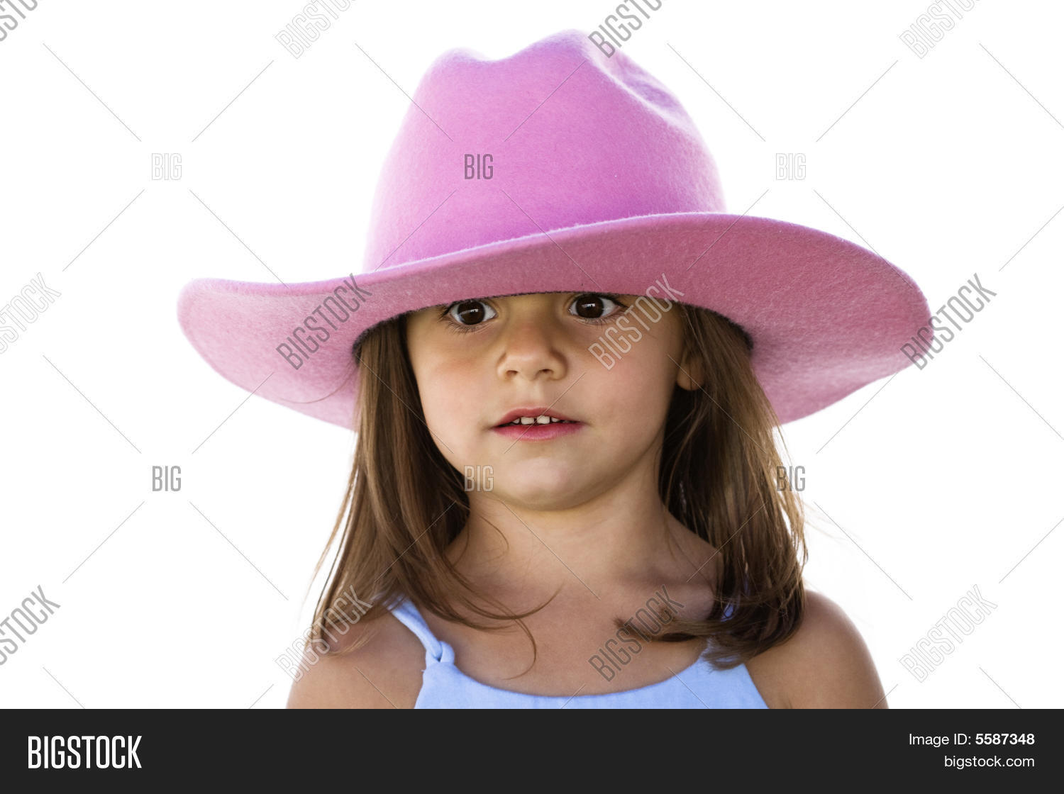 dcc8ca464 Silly Little Cowgirl Image & Photo (Free Trial)   Bigstock