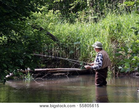 Morning Trout Fishing