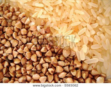 Buckwheat And Rice Groats