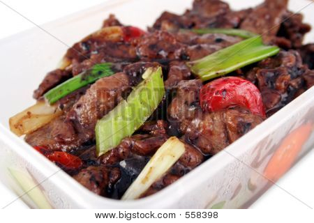 Chinese Take Out With Clipping Path