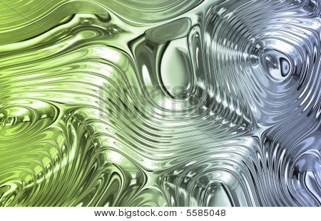 poster of Liquid Metal Wild Clean Ripple Texture Background