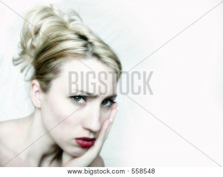 Pouty Blond