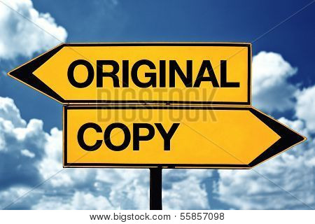 Oroiginal Or Copy
