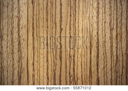 Zebrano Wood Surface - Vertical Lines