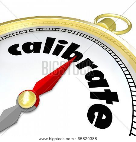 Calibrate compass change, adjust, align  course or direction to achieve your goal
