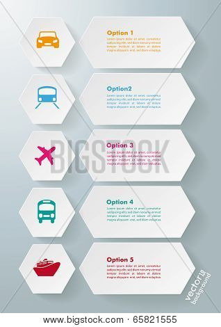 Infographic 5 Options Transportation