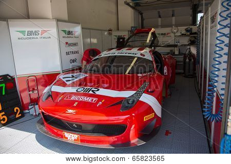 Ferrari 458 Italia Race Car