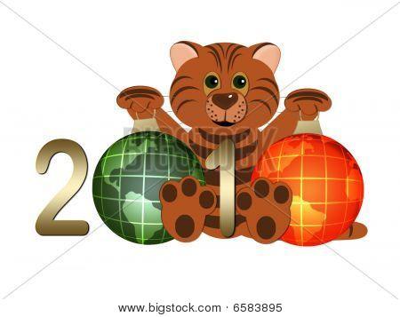 Tiger - symbol 2010 year