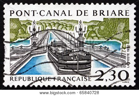Postage Stamp France 1990 Briare Aqueduct
