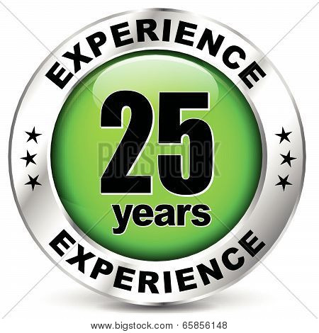 Twenty Five Years Experience