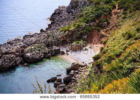 Small bay in Sicily