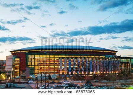 Pepsi Center In Denver, Colorado