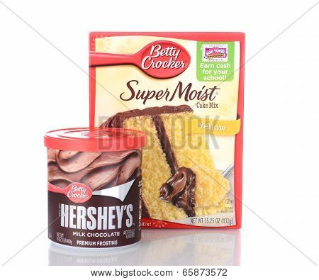 Betty Crocker Cake Mix And Frosting