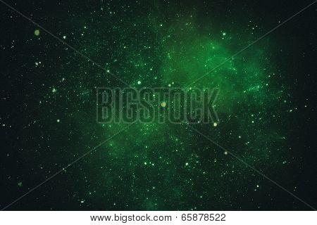 Deep space nebula.