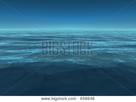 Infinite. Ocean