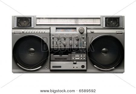 Big Boombox from 1980s