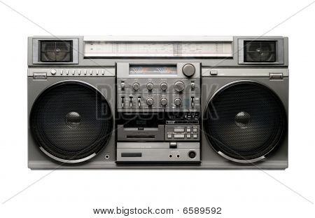 Boombox grande dos anos 80