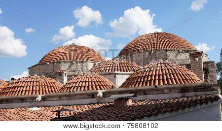 Domed Rooftop Of Hamam