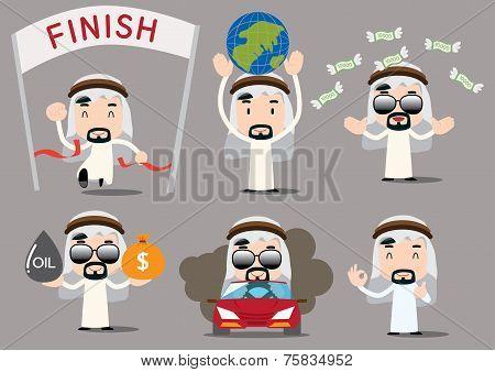 businessman series - arab rich