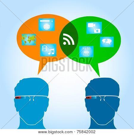 Smart Glasses People Connexion