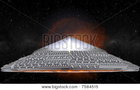 The Giant Crystal UFO