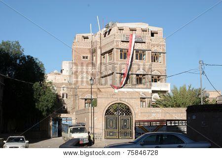Building in Old Town Yemen