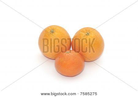 Oranges and mandarin