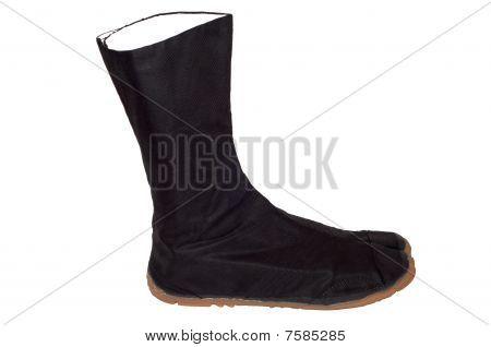 Ninja black boot