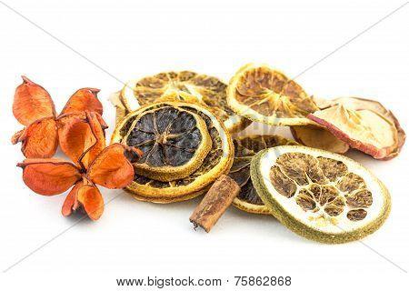 Dried Fruit And Cinnamon