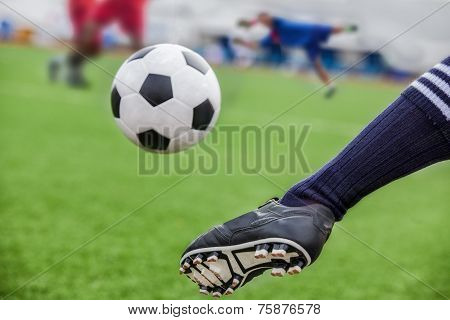 Kick Soccer Ball