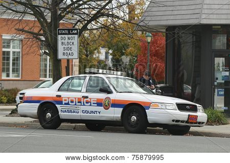 Nassau County Police Department car