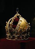 Golden crown of the Austro-Hungarian emperor Rudolf II. poster