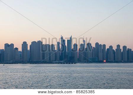 Jumeirah Beach Residence Skyline