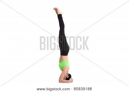 Supported Headstand Yoga Pose