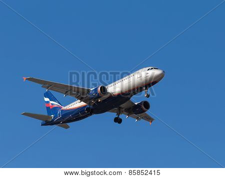 Airplane Airbus A320, E. Habarov