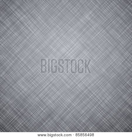 Realistic grey linen texture pattern. Vector eps10.