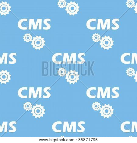 Cms seamless pattern