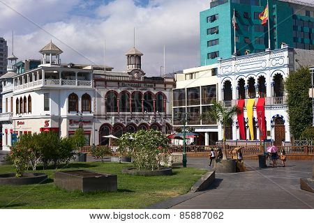 Plaza Prat Main Square in Iquique, Chile