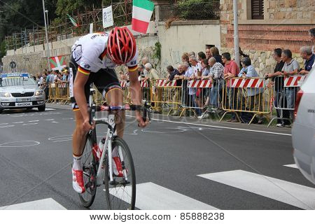 Cyclist at Uci Road World Championships
