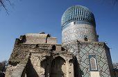 Mausoleum of Emir Timur (Tamerlane) in Samarkand, Uzbekistan poster