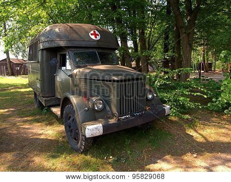 War ambulance ..