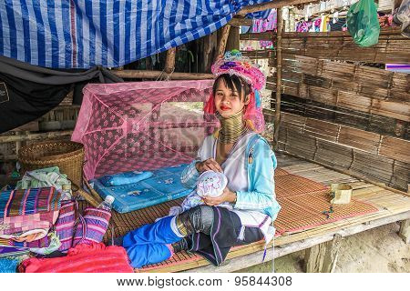 Padaung tribe long-necked