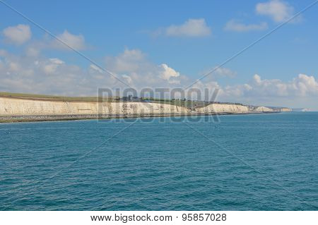 Chalk Cliffs At Brighton, Sussex, England