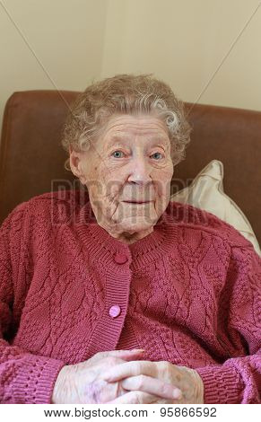 Old Woman Sitting