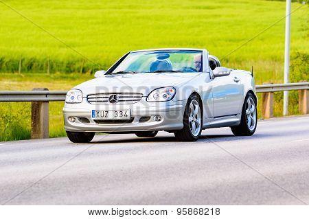 Mercedes-benz Slk 320 Silver