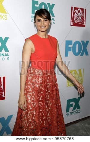 SAN DIEGO - JUL 10:  Mia Maestro at the 20th Century Fox Party Comic-Con Party at the Andaz Hotel on July 10, 2015 in San Diego, CA
