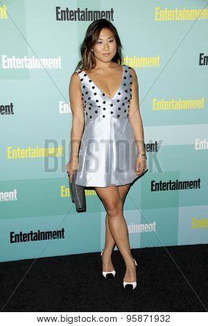 SAN DIEGO - JUL 11:  Jenna Ushkowitz at the Entertainment Weekly's Annual Comic-Con Party at the Hard Rock Hotel on July 11, 2015 in San Diego, CA