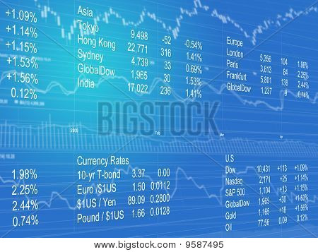 Financial Data Background