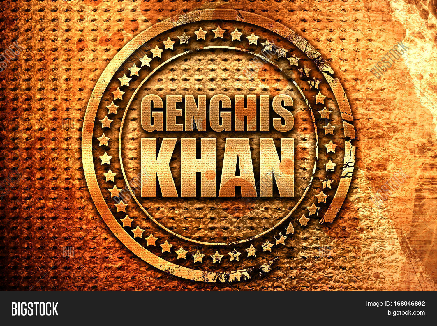 Genghis Khan 3d Image Photo Free Trial Bigstock