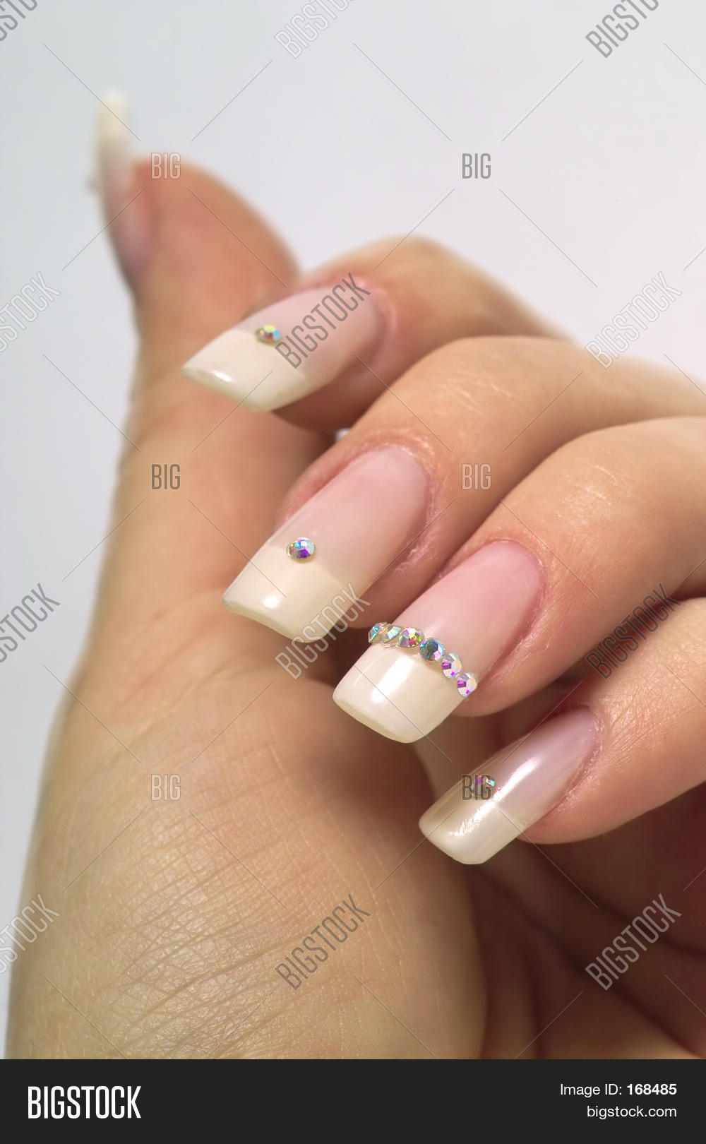 French Manicure Image & Photo (Free Trial) | Bigstock